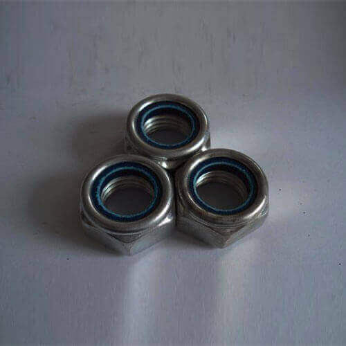 Alloy Steel HT 10.9 Nylock Nut